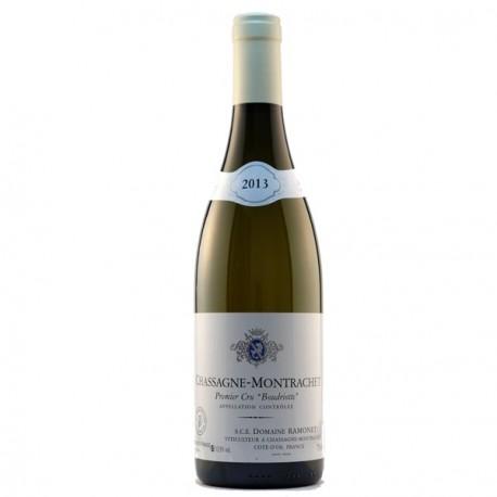 """Domaine Ramonet Chassagne-Montrachet Premier Cru """"Boudriottes"""" 2013"""