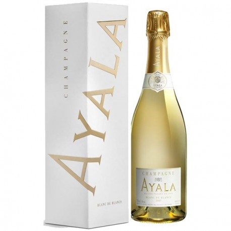Champagne Ayala Blanc de Blancs 2007 avec étui