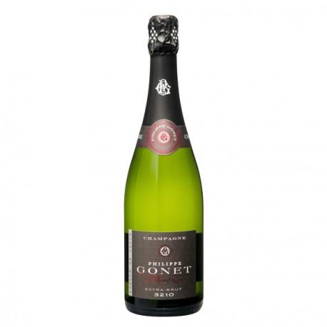Champagne Gonet Blanc de Blancs 3210 Extra Brut