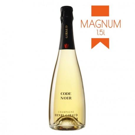 """Champagne Henri Giraud """"Code Noir"""" Blanc de Noirs MAGNUM"""
