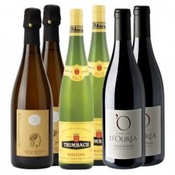 """Coffret """"Gourmet"""" 6 bouteilles"""