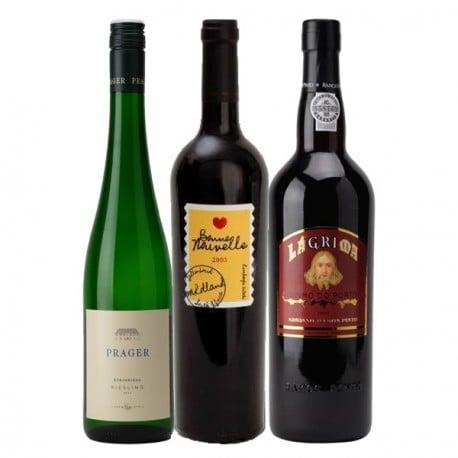"""Coffret Découverte """"Autour du Monde"""" 3 bouteilles"""