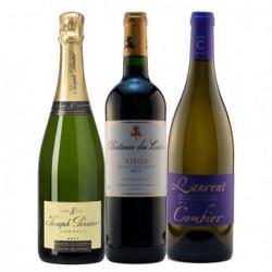 """Coffret """"Gourmet"""" 3 bouteilles"""