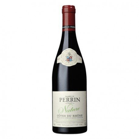 """Famille Perrin Côtes du Rhône """"Nature"""" rouge 2014"""
