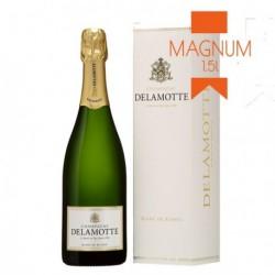 """Champagne Delamotte """"Blanc de Blancs"""" Magnum en étui"""