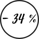 - 34%