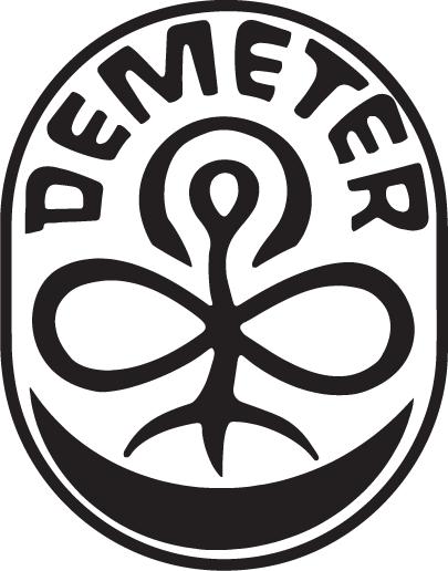 Logo Demeter certification biodynamie agriculture biodynamique