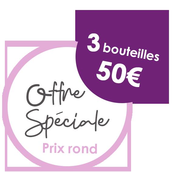 3 btls 50€